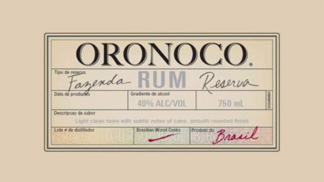 Introducing Oronoco Rum