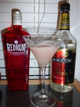 Red Rum MakeOut Martini