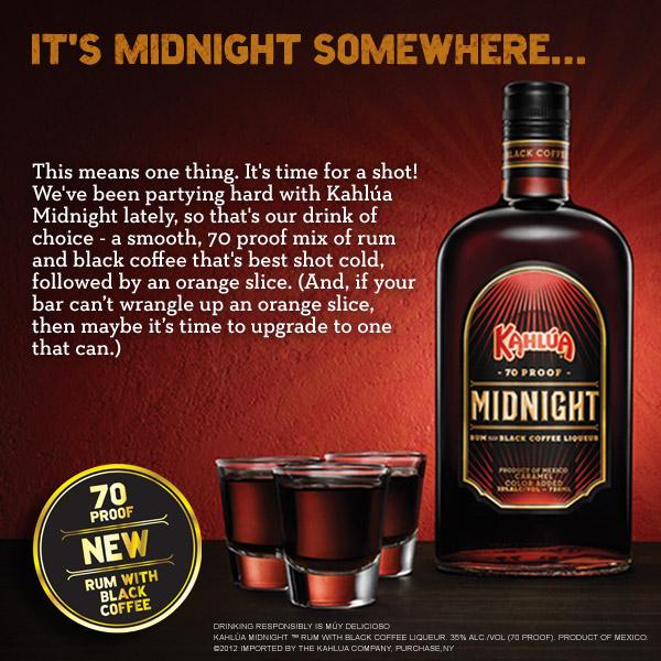 Kahlua Midnight Ad
