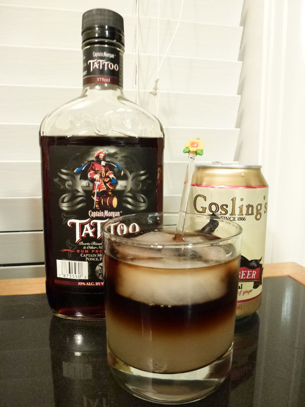 Dark 'n Stormy (Captain Morgan Tattoo)