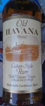 Old Havana Brand Cuban Style