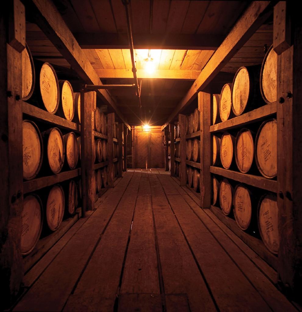 Ron Abuelo rum maturing in casks