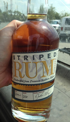Striped Pig Rum - First Batch