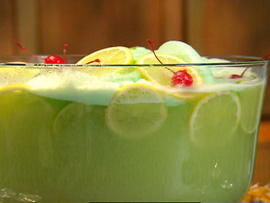 St. Patrick's Day Green Punch (PunchBowl.com)