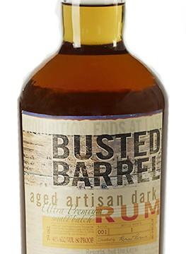 Busted Barrel Aged Dark Rum