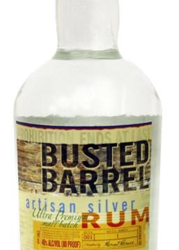 Busted Barrel Artisan Silver Rum