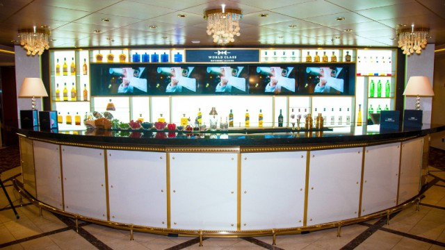 Celebrity Cruises' World Class Bar onboard the award-winning Celebrity Eclipse (PRNewsFoto/Celebrity Cruises)
