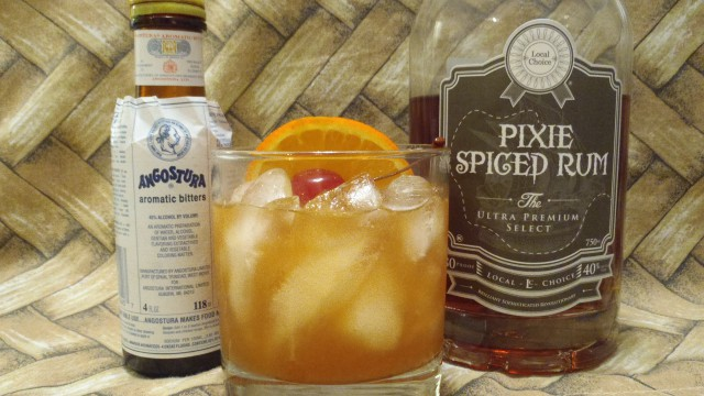 PixieSpiced_RumOldFashioned