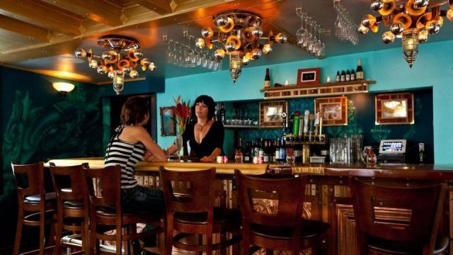 Cocktails at the bar: At 2 Cents in Key West. Michael Marrero (MiamiHerald.com)