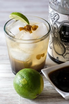 Spicy Ginger Rum Cocktail (Photo courtesy of Huffingtonpost.com)