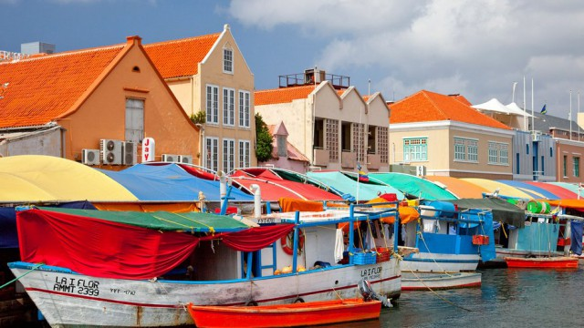 Floating Market on Curacao (Courtesy of CNTraveler.com)