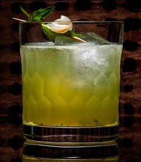 Luau Basil Cocktail (Photo courtesy of Lizzie Munro/Tasting Table)