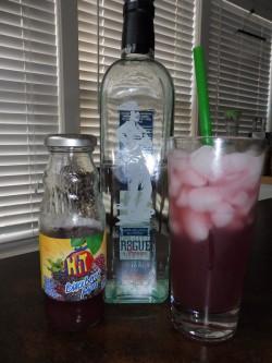 Rogue White Rum & Blackberry Mora Juice