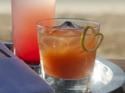Jumby Bay Rum Punch (Photo courtesy of CaribJournal.com)