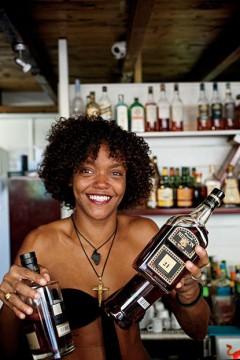 Behind the bar at Le Kano. Photo courtesy of GardenAndGun.com.