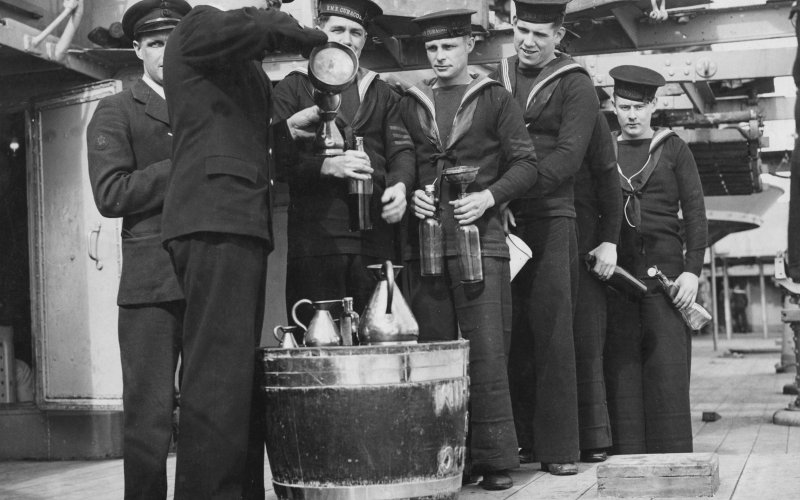 British Royal Navy Black Tot