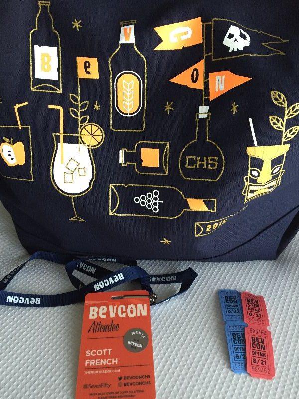 BevCon swag bag