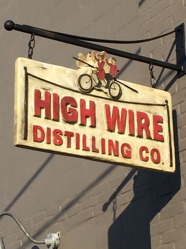 High Wire Distilling hosted the BevCon kickoff party''/