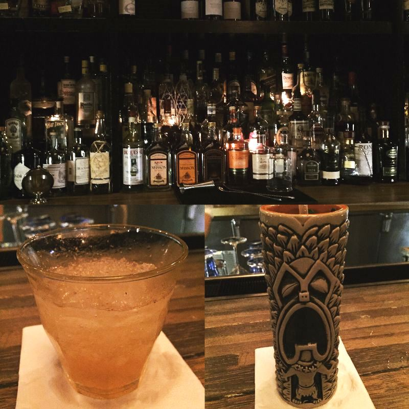 I ended BevCon Day 2 with tiki cocktails at The Ordinary