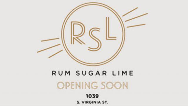 Rum Sugar Lime Bar Logo (Reno)