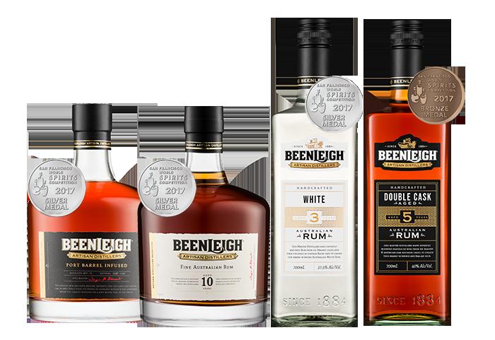Beenleigh's 2020 Rums
